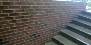 St. Louis tuckpointing project